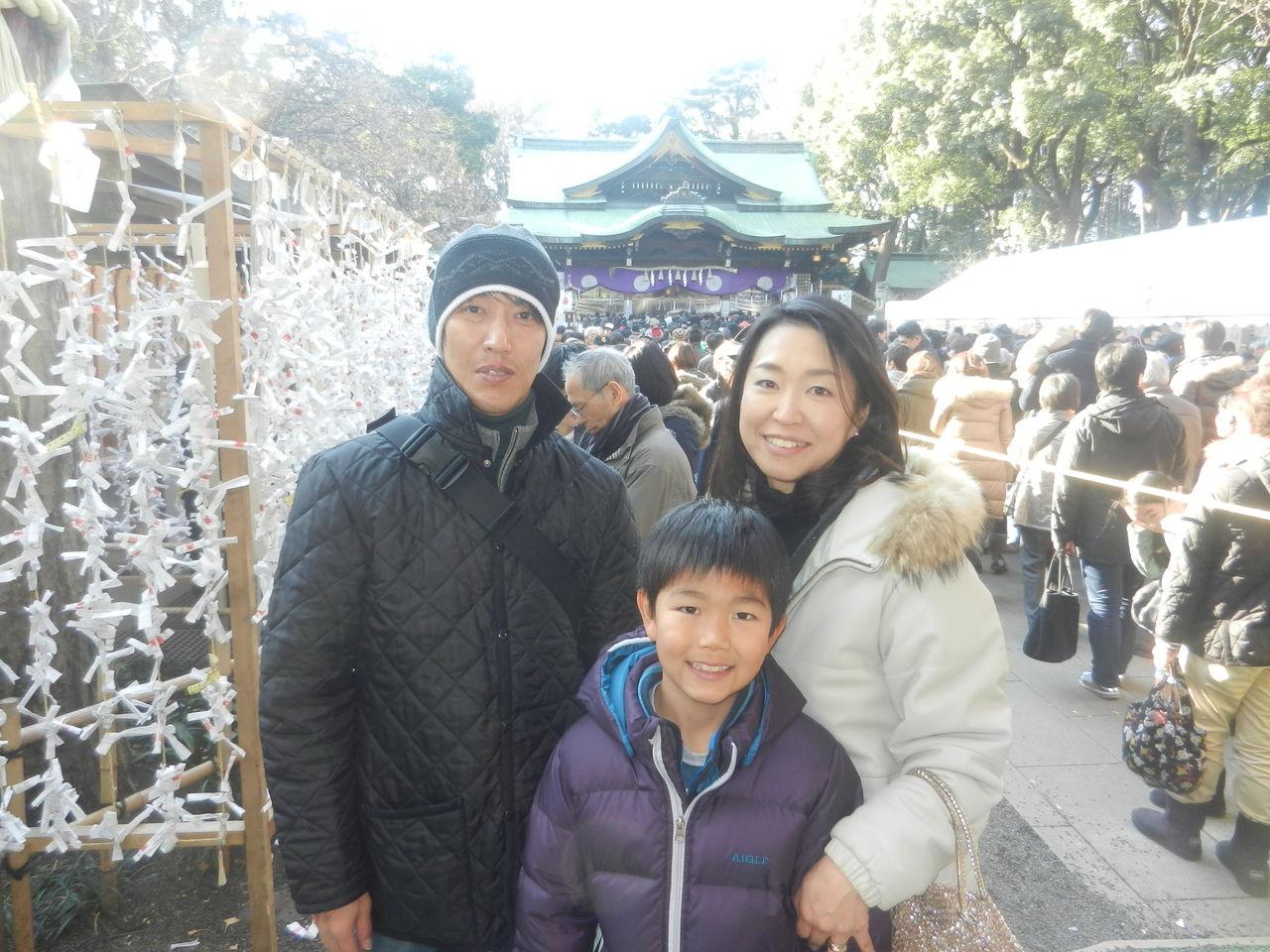 20140101家族で初詣
