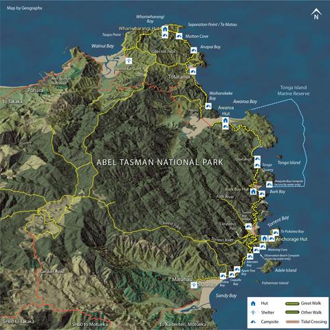Abel Tasman Coast Track image