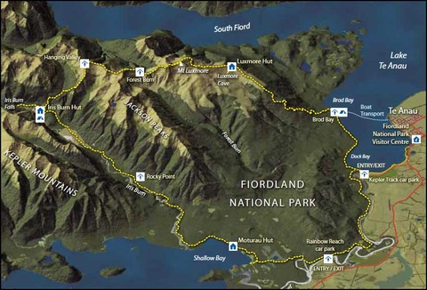 kepler-track-new-zealand-fiordland-map