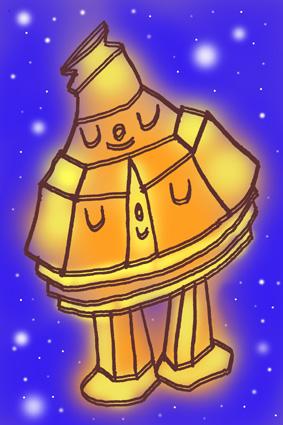 「夜空のロボタン」