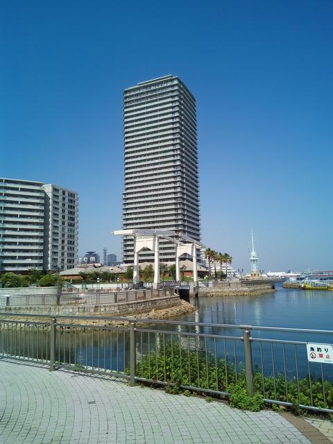 神戸港高層マンション