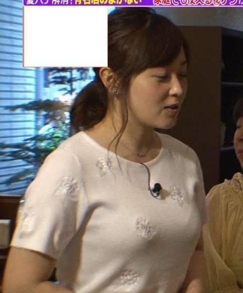 【神画像】水卜麻美アナ30の迫力のロケット乳がエロすぎてやべえええええ