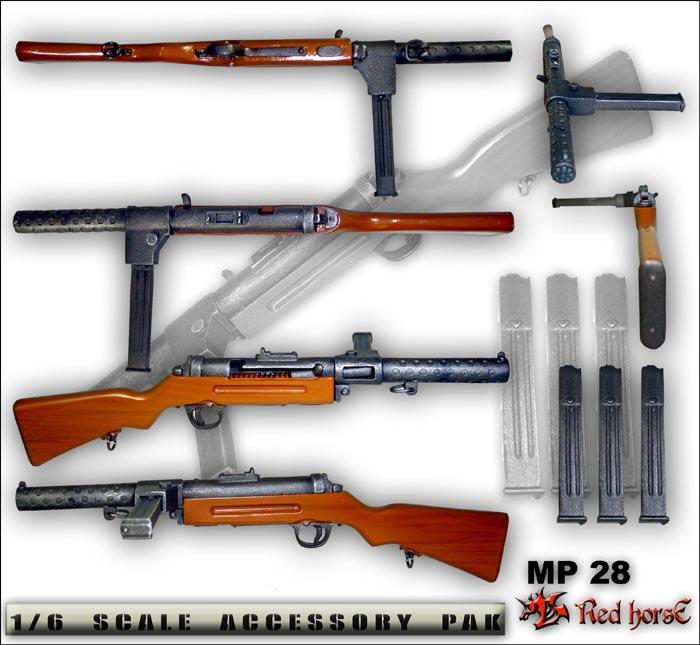 ハーネルMP28短機関銃