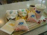 JEFで食べた品々