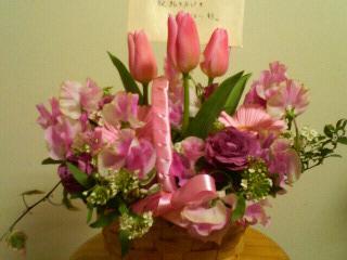 YOKAROさんから頂いたお花