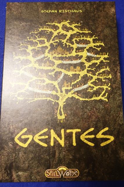 ボドゲ『GENTES』の箱