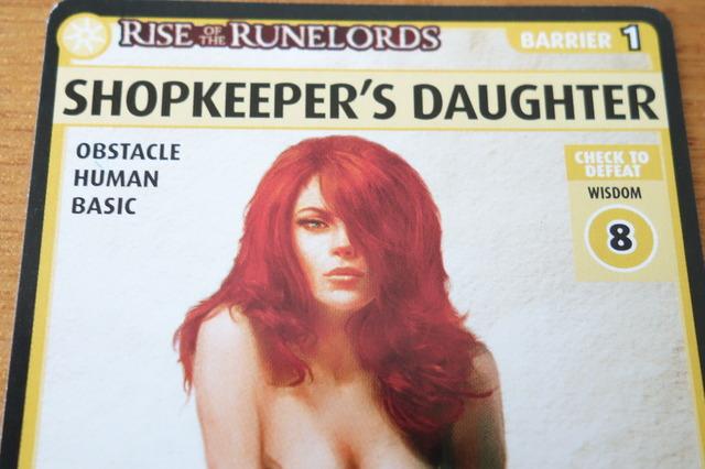 Shopkeeper's Daughterのカード