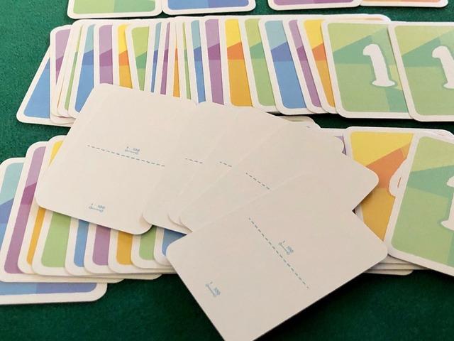 ブランクテーマカードの写真