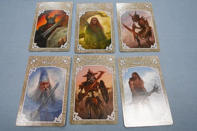 エスノスの種族カード