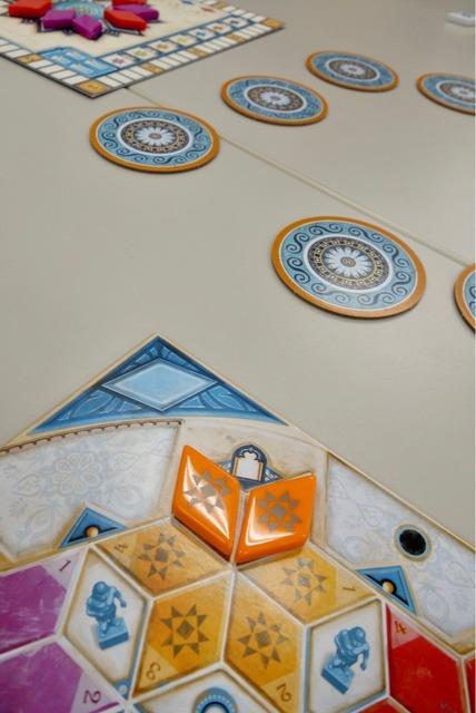 オレンジ5と6のマスに配置できた写真