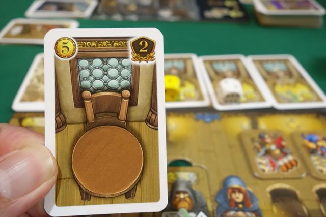 テーブルカードの写真