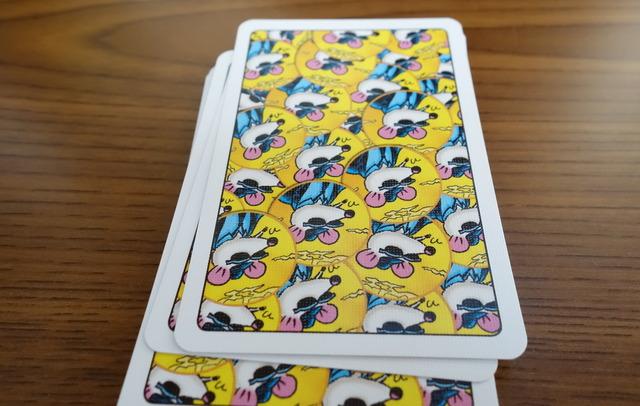 ネズミカードの写真