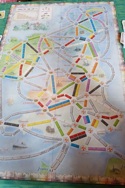 イギリスマップの写真