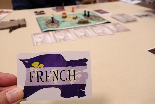 フランス陣営カード写真