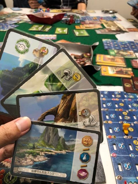 レベル2の島カード4枚の写真