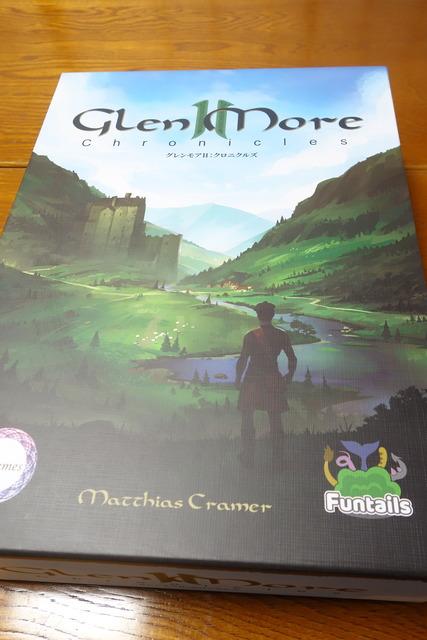 グレンモア2のパッケージ表写真