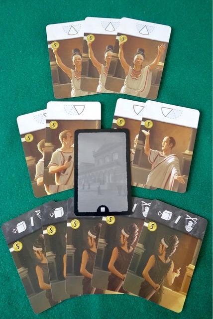 元老院議員カードの写真