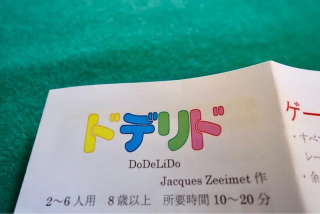 日本語説明書の写真