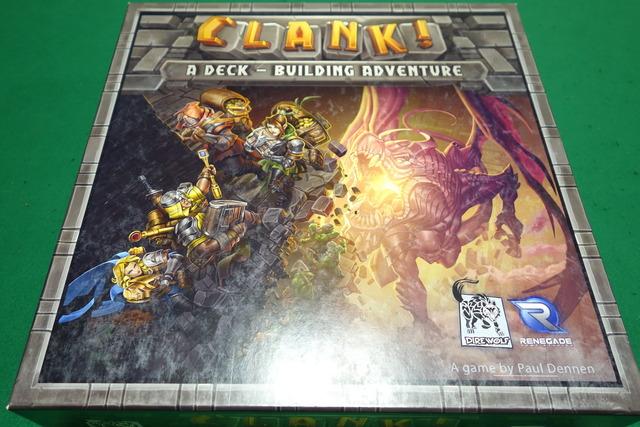 ボードゲーム『クランク!』のパッケージ