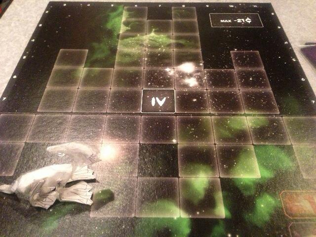ステージ4の宇宙船ボード