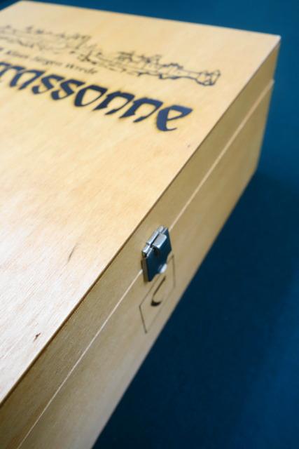カルカソンヌ ディスタッドの木箱