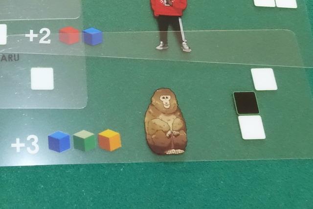 サルのカードの写真