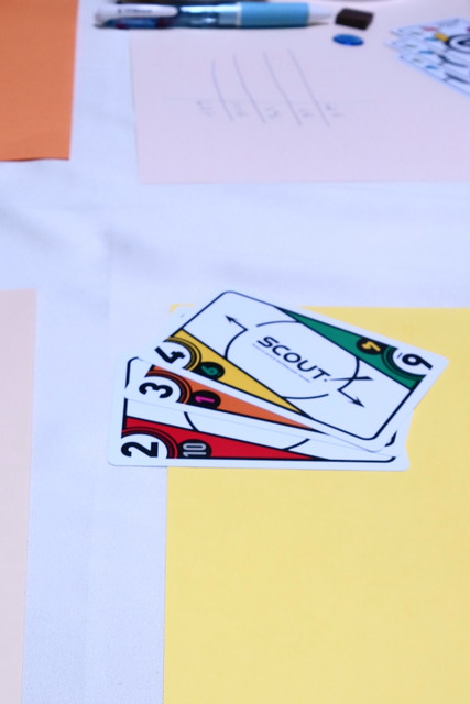 2,3,4の連番カードの写真