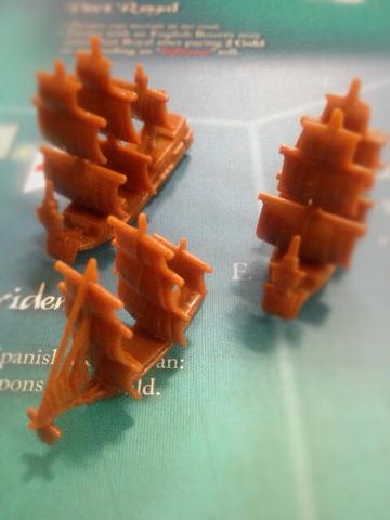 船駒3つの写真