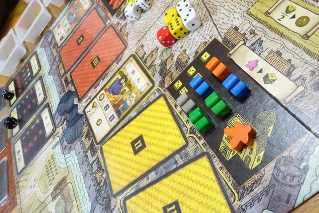 プレイ中のボードの写真
