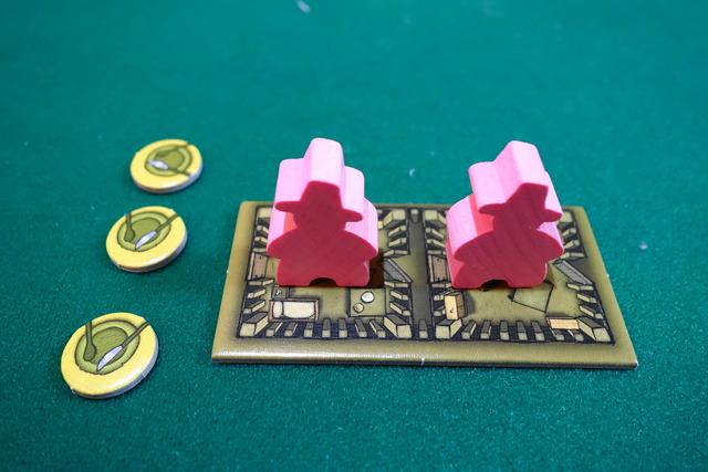 アグリコラファミリーバージョンのプレイヤーボード写真