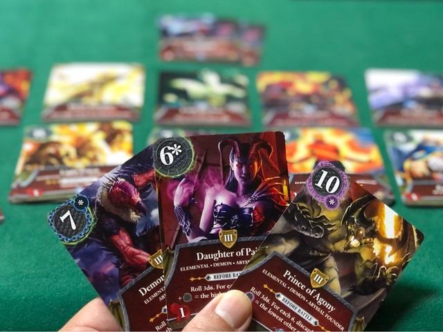 敵カードアップ写真