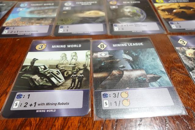 カード2枚の写真