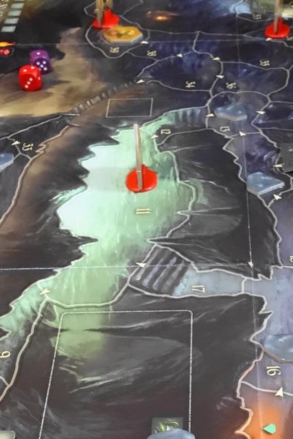 アンドールの伝説のシナリオ4マップの湖