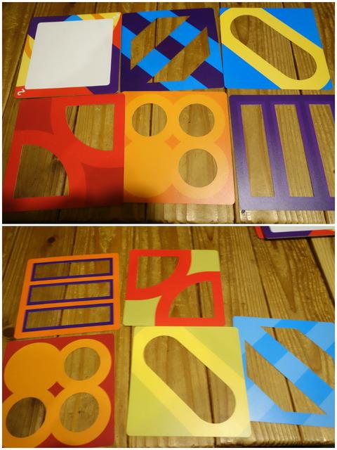 レイヤーズのシート5枚の写真(両面)