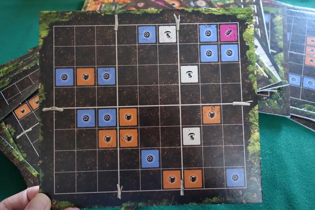 インディアンサマーのプレイヤーボード
