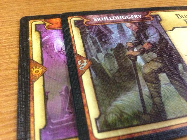 2種類の拡張要素のカード