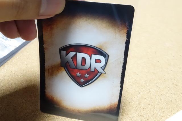 裏切りの工作員の陣営「KDR」のカード写真