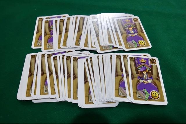 貴族カードの写真
