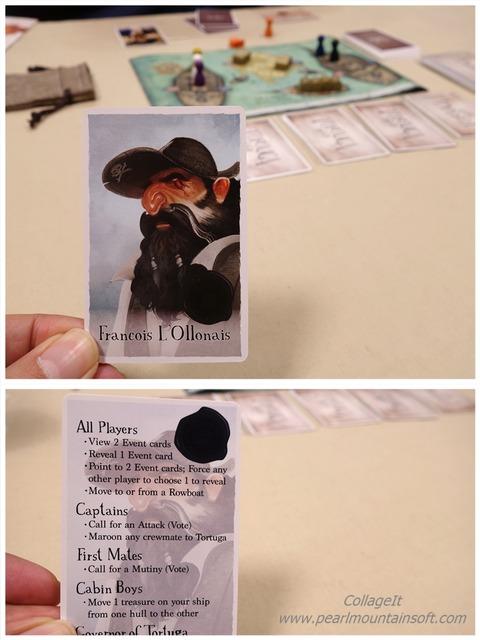 海賊カード「Francois I.Ollonais」写真