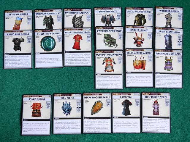 全Armor(防具)カード写真