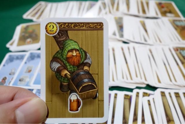 カード:ビール職人の写真