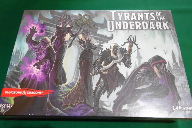 タイランツ・オブ・ジ・アンダーダーク(Tyrants of the Underdark)のパッケージ