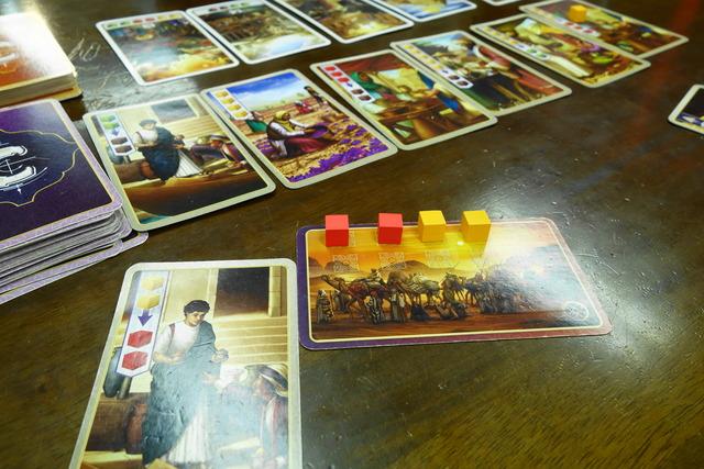 変換能力のある商人カードをプレイした