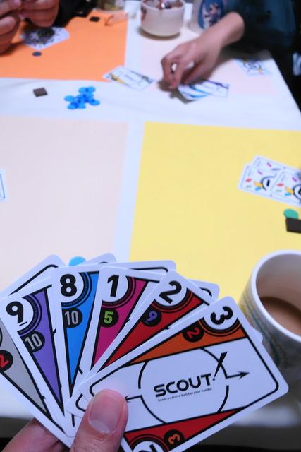 8,9のカードが並んだ写真