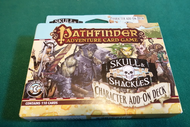 -SKULL&SHACKLES- Character Add-on Deckのパッケージ表