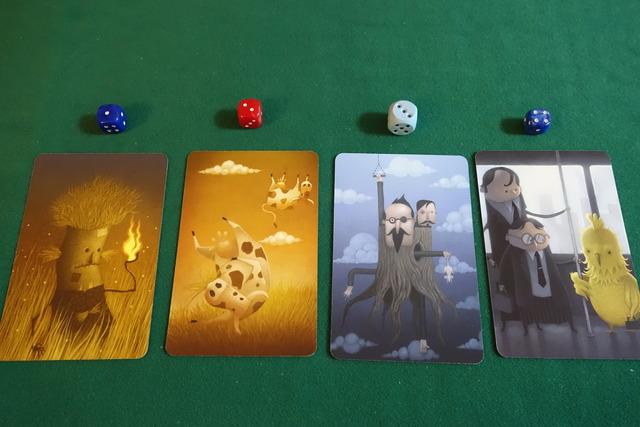 デイドリームのカード4枚