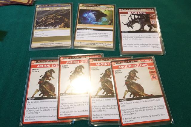 シナリオ3の手下、悪役カード