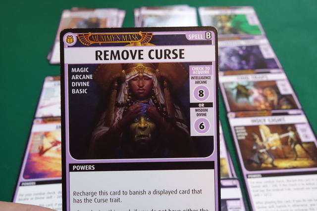 Card : Remove Curse