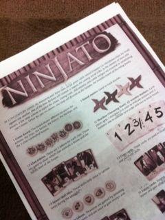 ninjato説明書表紙
