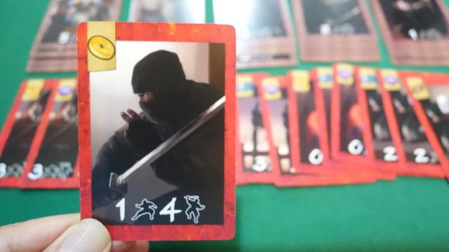 忍者カードの写真